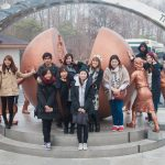 Korean Language Flagship capstone students visit the 3rd Tunnel